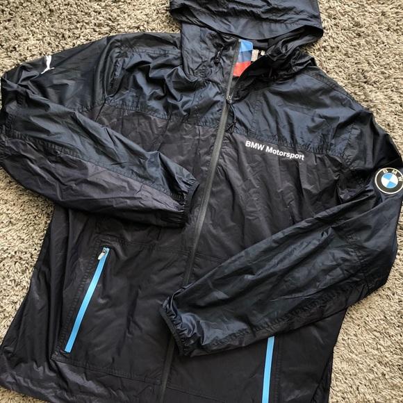 PUMA BMW MOTORSPORT RAIN WINDBREAKER JACKET XL